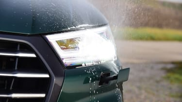 Audi Q5 PHEV long-termer - first report headlight wash