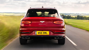 Bentley Bentayga Hybrid - full rear