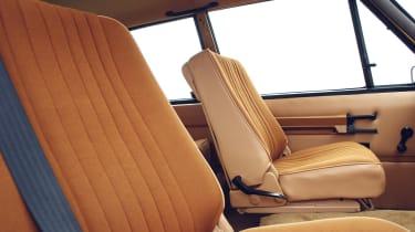 Range Rover Reborn - seats