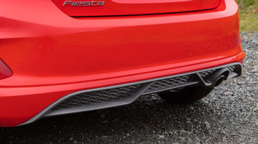 New Ford Fiesta ST-Line - rear detail