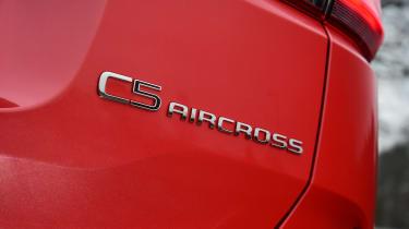 Citroen C5 Aircross - badge