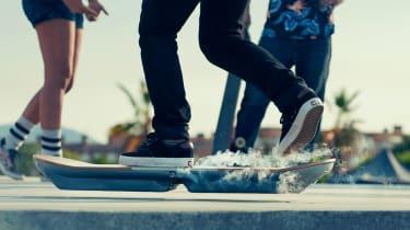 Lexus hoverboard - side shot
