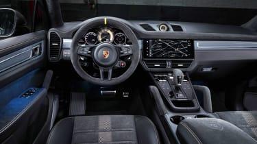 Porsche Cayenne Turbo GT - dash