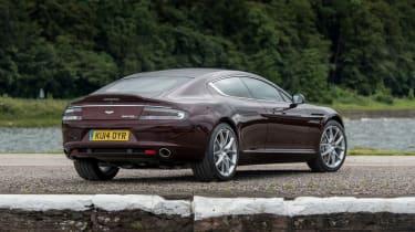 Aston Martin Rapide S 2014 rear static