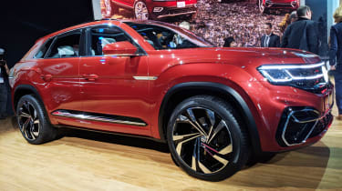 Volkswagen Atlas Cross Sport concept - New York front