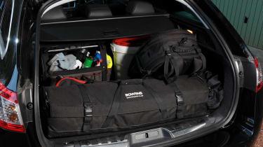 Peugeot 508 SW boot