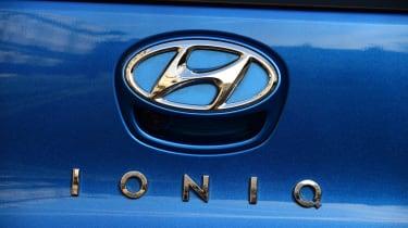 Hyundai Ioniq Plug-in long term - first report badge