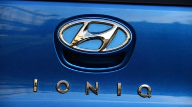 Hyundai Ioniq Plug-in long term - first report badge