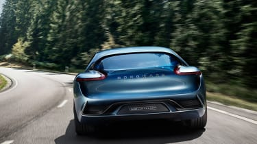 Borgward Isabella concept - full rear