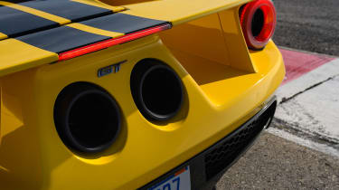 Ford GT - rear detail