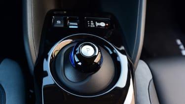 Nissan Leaf - interior detail