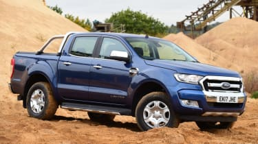 Ford Ranger - off road static