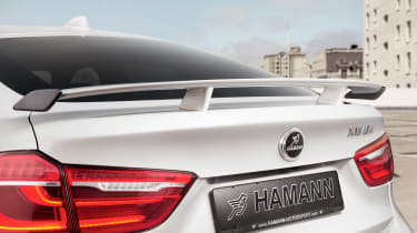 Hamann BMW X6 M50d - spoiler