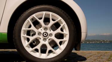 Smart ForTwo Electric Drive Cabrio - wheel