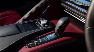 Lexus LC - transmission