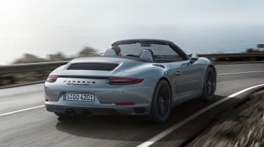Porsche 911 GTS Cabriolet - rear