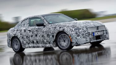 BMW 2 Series Coupe prototype - front wet