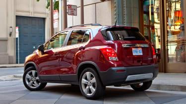 Chevrolet Trax rear three-quarters