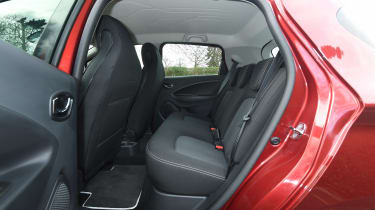 Renault ZOE - rear seats