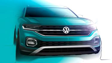 Volkswagen T-Cross - teaser front