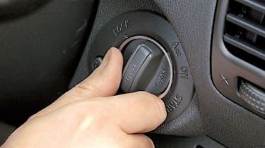 Driver can select 4WD while on the move