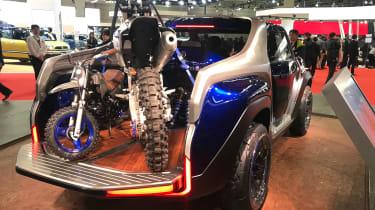 Yamaha Cross Hub Concept - Tokyo rear