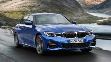 BMW 3 Series - blue front