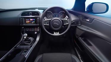 Jaguar XE 2.0D R Sport - interior