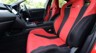 UK Honda Civic Type R 2017 - front interior