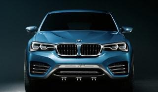 BMW X4 Concept head on