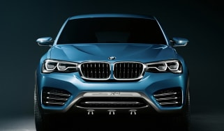 BMW X4 Concept head on