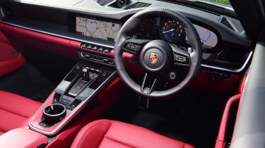 Porsche 911 Cabriolet - cabin