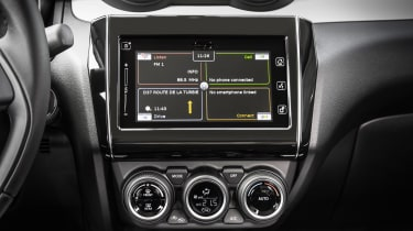 New Suzuki Swift 2017 - infotainment