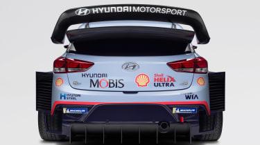 Hyundai i20 WRC - full rear