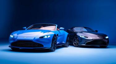Aston Martin Vantage Roadster - range