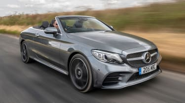 Mercedes C Class convertible - tracking