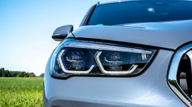 BMW X1 review - headlight