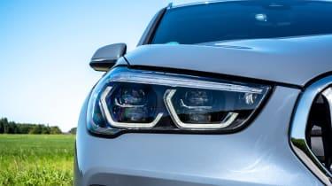 BMW X1 review - headlight