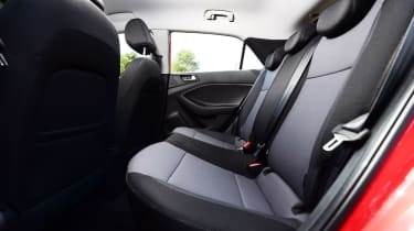 Hyundai i20 - rear seats
