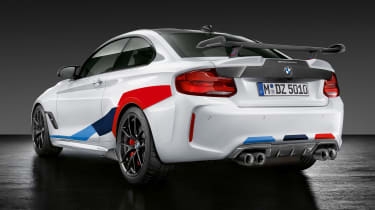 BMW M2 Competition Performance Parts - rear