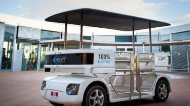 Navia driverless car