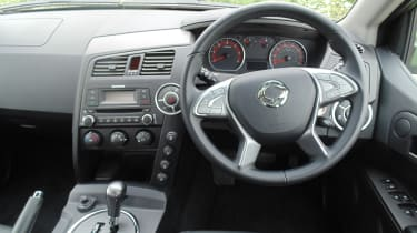 SsangYong Korando Sports DMZ - interior