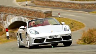 Porsche 718 Boxster - front