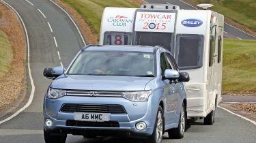 Mitsubishi Outlander PHEV Tow Car of the Year
