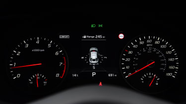 Kia Stinger - speedo