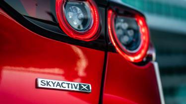Mazda 3 SkyActiv-X - SkyActiv-X badge