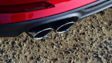 Twin test - Audi A5 - exhaust