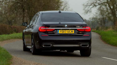 BMW 7 Series - rear action
