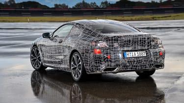 New BMW 8 Series rear