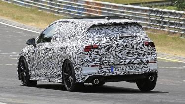 Volkswagen Golf GTI - spied rear cornering